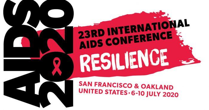 AIDS 2020 logo