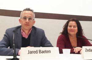 Jared Baeten, MD and Zeda Rosenberg, ScD