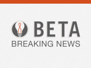 Beta Breaking News graphic