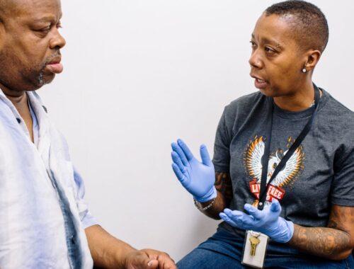 SAS at harm reduction center