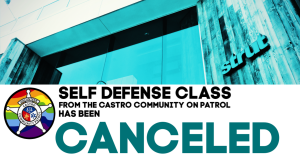 Self Defense Class taught by Castro Community on Patrol