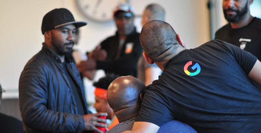 Black Brothers Esteem group meeting