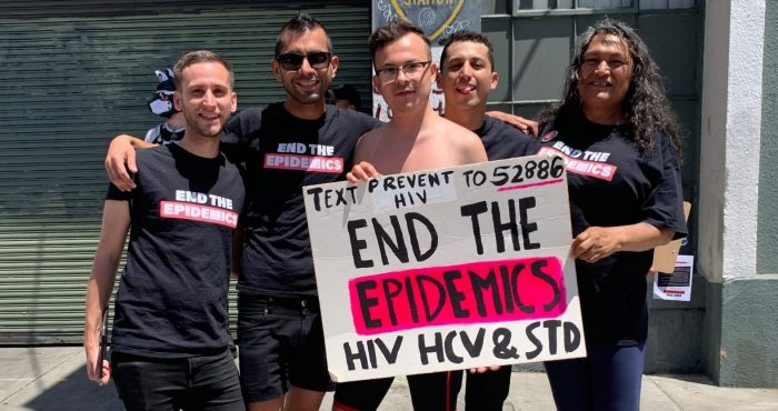 HAN activists attend Dore Alley Fair to advocate for End the Epidemics