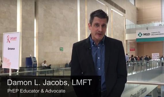 Damon Jacobs, PrEP Educator and Advocate