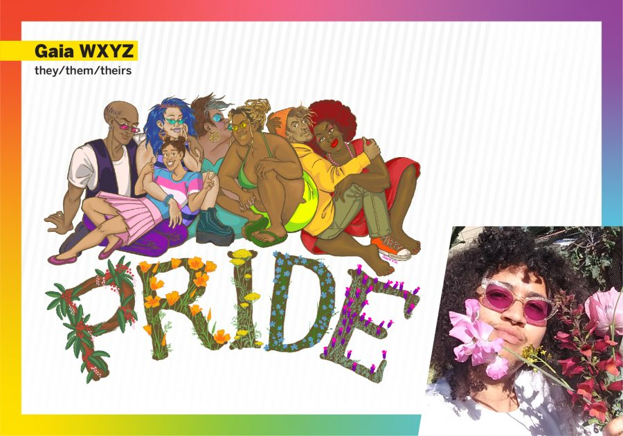 Gaia WXYZ Pride design