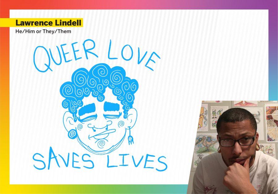 Lawrence Lindell Pride design