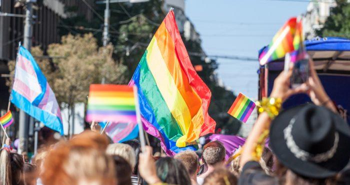 Pride parade photo