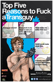 Top 5 reasons to fuck a trans guy