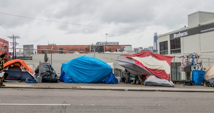 homeless tents SF