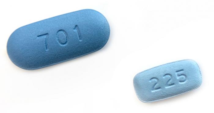Truvada and Descovy pills