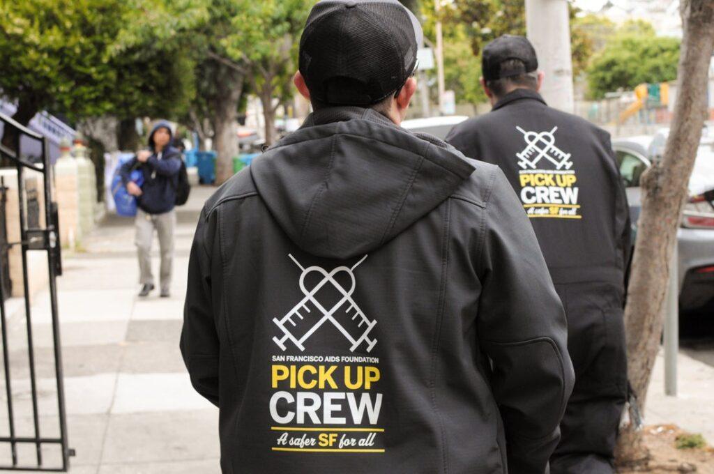 Syringe Pick Up Crew